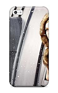 Elliot D. Stewart's Shop 2968563K62877311 First-class Case Cover For Iphone 5c Dual Protection Cover Horse & Girl Wide
