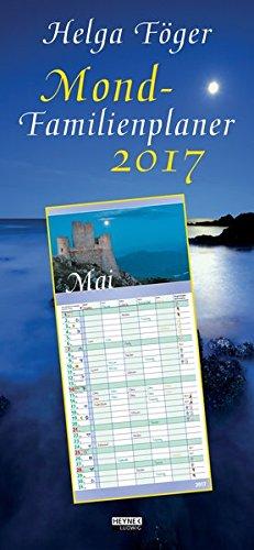 Mond-Familienplaner 2017: Wandkalender