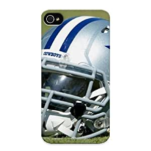 Creatingyourself Perfect Dallas Cowboys Helmet Pictures Case Cover Skin With Appearance For Iphone 4/4s Phone Case