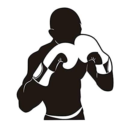 Boxeo Guante Pegatina Kick Boxer Play Car Decal Combat Posters Vinilo Striker Tatuajes de pared Decoración 40 * 46 cm: Amazon.es: Bebé