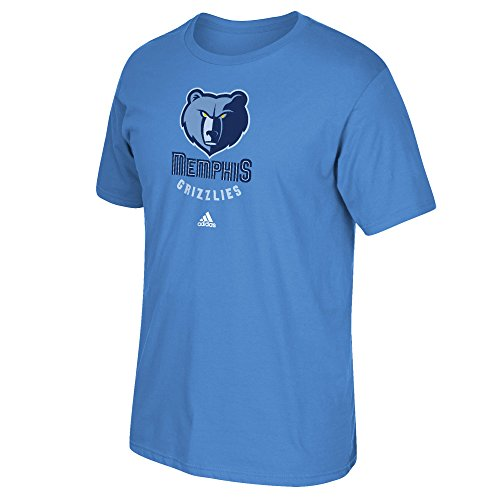 NBA Memphis Grizzlies Men's Full Primary Logo Short Sleeve Tee, X-Large, Blue