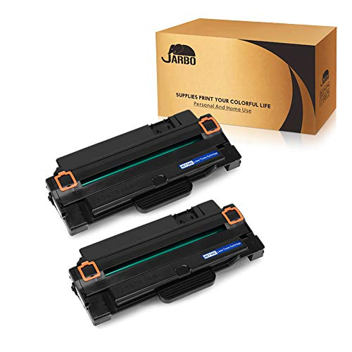 JARBO 2 Black Compatible for Samsung 105L MLT-D105L MLTD105L Toner Cartridges High Yield, Use with Samsung ML-2525W ML-2525 ML-2545 ML-1915 SCX-4623F SCX-4623FW SCX-4623FN SF-650 SF-650P Printer