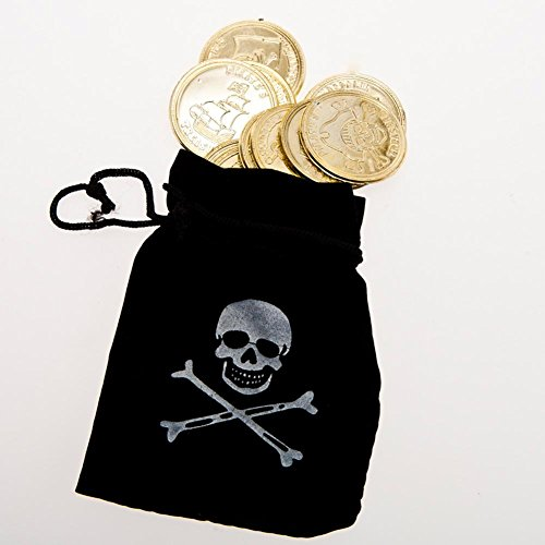 Fun Express Pirate Drawstring Coins