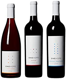 ONEHOPE California Reds IV Wine Mixed Pack, 3 x 750 mL
