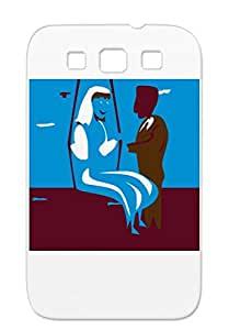 Wedding Weddings Holidays Occasions TPU Anti-drop Case For Sumsang Galaxy S3 Pink