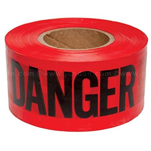 Danger Barricade Tape (20 Units)