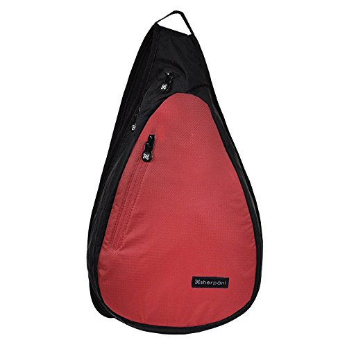 Sherpani Women's Esprit Sling Backpack, Red, One Size