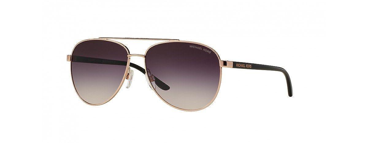 2098dea12b86 Amazon.com: Michael Kors Hvar Sunglasses MK5007 Rose Gold / Grey-Rose  Gradient 1099/36 59mm: Clothing