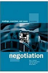 Negotiation: Readings, Exercises, and Cases / Roy J. Lewicki ... Et Al Paperback