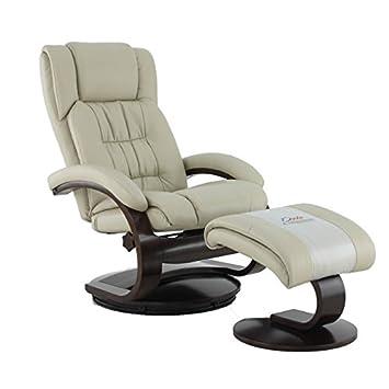Amazon.com: pemberly fila giratoria de piel sillón ...