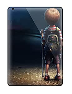 7158371K17308178 New Style Hard Case Cover For Ipad Air- Loneliness