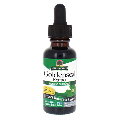 - Nature's Answer Alcohol-Free Goldenseal Root, 1-Fluid Ounce