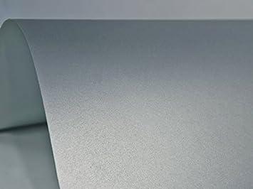100x Blatt Perlmutt Silber 125g Papier Din A4 210x297mm Sirio Pearl Platinum Ideal Für Hochzeit Geburtstag Taufe Weihnachten Einladungen