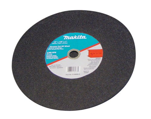 Cutter Makita Inch 14 - Makita B-10849-5 14-Inch Cut-Off Wheel, 5-Pack