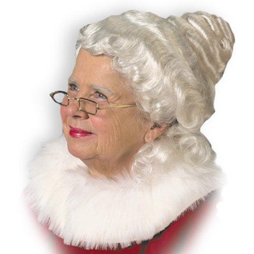 Mrs. Claus Wig Adult (Mrs Claus Dresses)