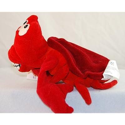 Sebastian Mini Bean Bag (The Little Mermaid) by Disney: Toys & Games