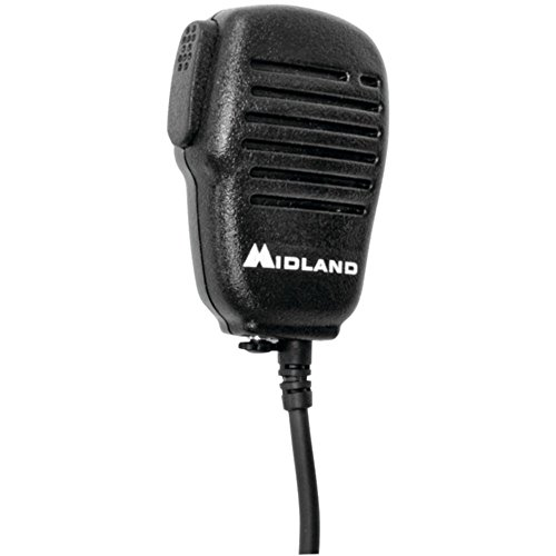 MIDLAND AVPH10 Handheld/Wearable Speaker Microphone with Push-to-Talk for GMRS Radios Consumer Electronics
