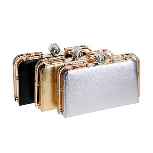 e Clutch Nero Oro moda americana Bag Colore borsa Evening Evening Ladies Vola da Bag Dress sera europea qAZvtBawX