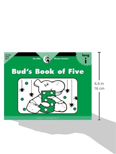 Bud's Book of Five, Itty Bitty Phonics Reader (Itty-bitty Phonics Readers)