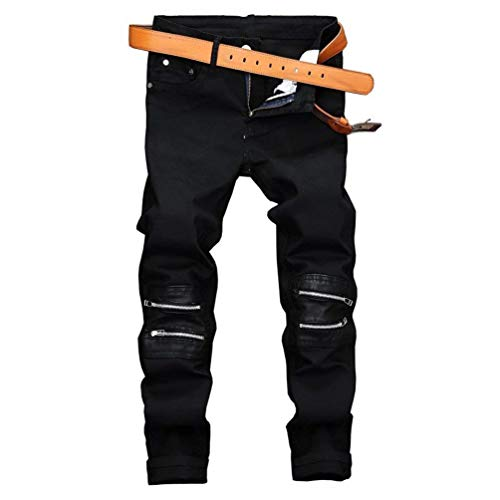 Denim Ropa Hombres Jeans Jeans Ripped Men Casual Skinny RTE Straight Leg Street Style 2018 Jeans Classic Hombres Jeans R Colour Slim Distressed Worn tzwpFPCxnq