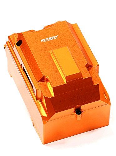 Hpi Radio Box (Integy RC Model Hop-ups T6718ORANGE Billet Machined Radio Box for HPI Savage X 4.6 2011, Flux & Savage XL)
