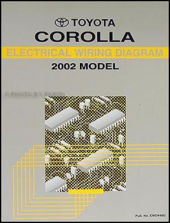 2002 toyota corolla wiring diagram manual original toyota amazon 2002 Toyota Corolla Oxygen Sensor Wiring Diagram