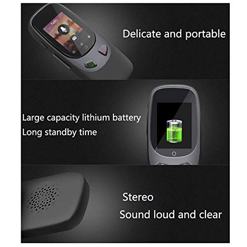 Window-pick Smart Voice Translator Device 4G WiFi Two Way Real Time Instant Language Translator Handheld Support 16 Languages for Learning Travel Shopping Business Black by Window-pick (Image #4)