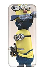 Tough Iphone NLDVMTJ989ThUbu Case Cover/ Case For iphone 5 5s (minions Wllpaper )(3D PC Soft Case)