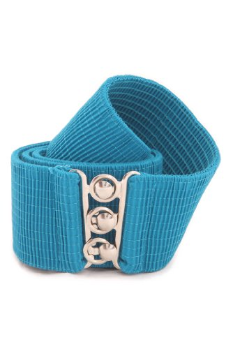 Malco Modes Wide Elastic Cinch Thick Waist Belt Stretch Belt for Women, Child to Plus Sizes (Wear Cinch Belt)