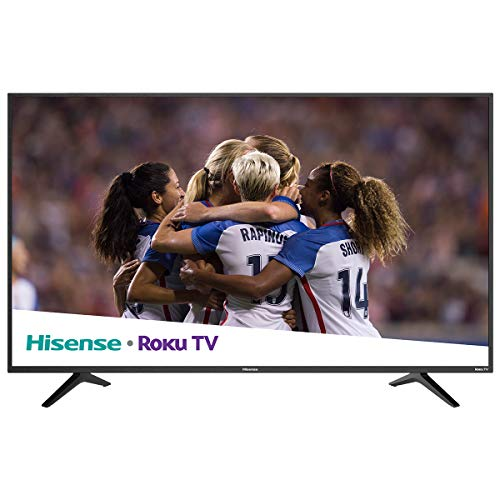 "Hisense 55R6000E 2018 Model Roku TV 55"" Class R6E 4K UHD TV with HDR (Certified refurbished)"