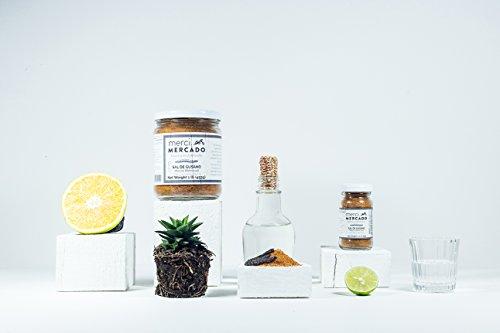 Sal de gusano - Gourmet edible worm salt from Oaxaca Mexico (1lb) by Merci Mercado (Image #1)