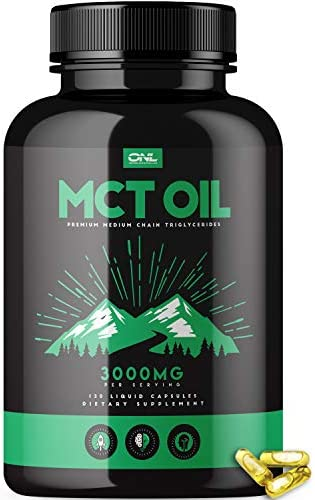 MCT Oil Capsules 3000MG Metabolism product image