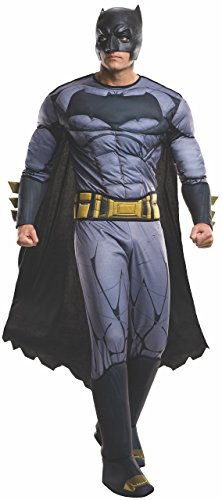 Rubie's Men's Batman v Superman: Dawn of Justice Deluxe Batman Costume, Multi, One Size -