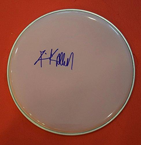 Rick Allen Signed Autographed Drumhead Def Leppard Drummer (Def Allen Rick Leppard)