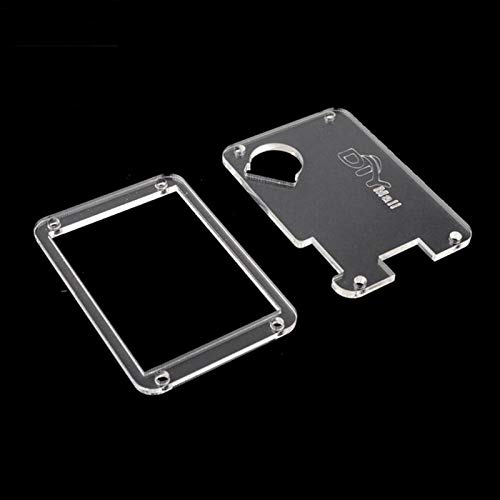 WIshioT Transparent Clear Acrylic Case for Nextion Enhanced 3.5