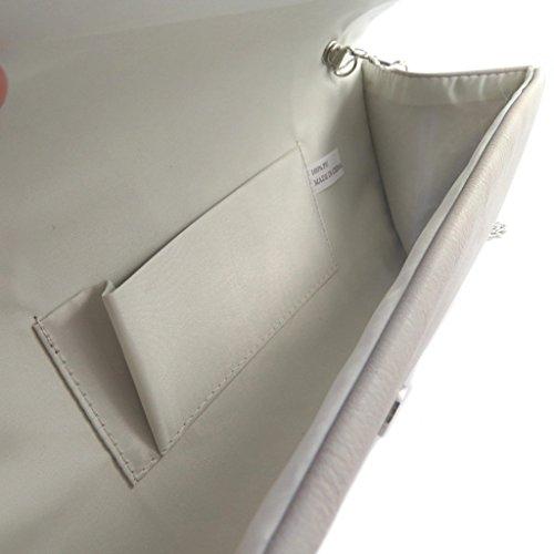 Pouch Scarlettgrigio - 25.5x11.5x6 cm.