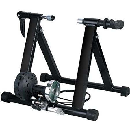 amazoncom magnet steel bike bicycle indoor exercise trainer stand by fdw sports outdoors