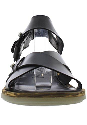 Sandals London Back Fly Schwarz Sling Crib257fly Womens 8vnddqX