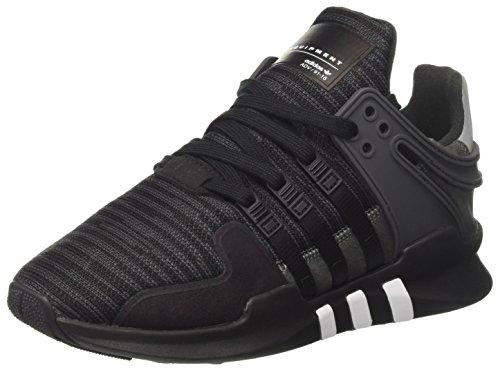 adidas Equipment Support Adv, Zapatilla de Deporte Baja del Cuello para Hombre Negro (Core Black/utility Black/dgh Solid Grey)