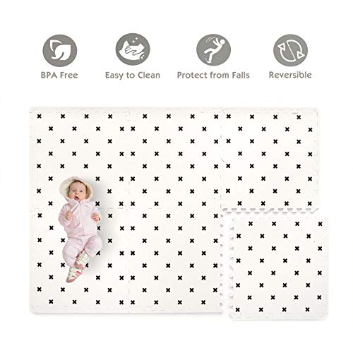 - Baby Play Mat Non Toxic Foam Puzzle Floor Mat for Kids