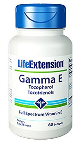 Life Extension Gamma E 325 Mg, 60 softgels by Life ()