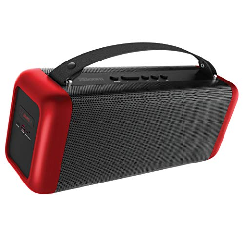 2BOOM Portable Bluetooth Speakers, Wireless Boombox Stereo, Portable  Indoor/Outdoor, FM Radio, 4-inch Dual Sub-Woofers, Rechargeable Battery,  Booming