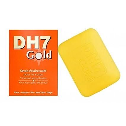 dh7 dorado limón Skin Brightening Blanqueamiento Blanqueamiento Lightening jabón 200 g con vitaminas