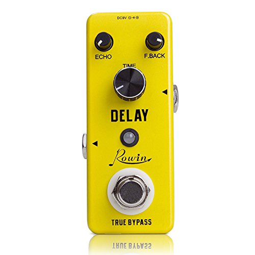 (Rowin Analog Vintage Delay Guitar Effect Pedal)