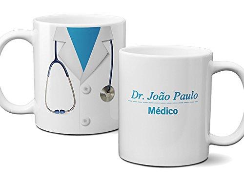 Caneca Medico Jaleco - Com Nome