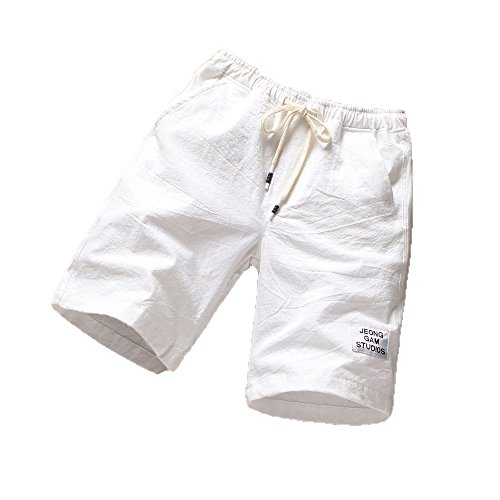 Respirants Plage Blanc Mode Été De Running Pantalons Sport Fitness Hommes UYwPgZWPB