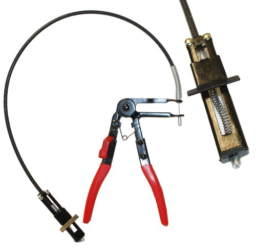 2FT Flexible Wire Long Reach Hose Clamp Pliers 4 Replacement Fuel Oil Water Hose by I_S IMPORT