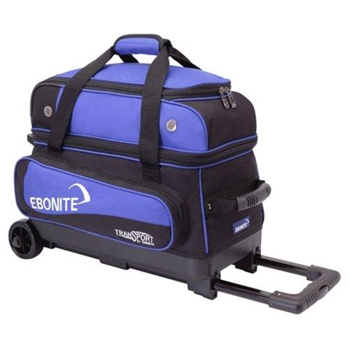 Ebonite Transport 2 Roller Bowling Bag- Blue/Black () Review