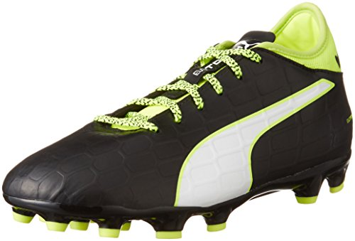Puma Evotouch 3 Ag, Botas de Fútbol para Hombre Negro - Schwarz (black-white-safety yellow 01)