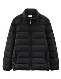 HengJia Boy and Girl's Solid Coat Kids Thicken Down Jacket Outwear Ultra Light